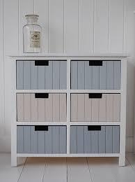 Six Drawer Storage Cabinet by Beach Cottage Six Drawer Storage Furniture White Cottage Furniture