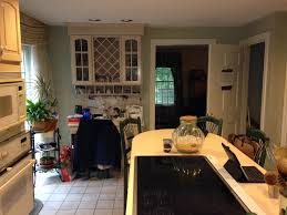 Kitchen Before 90s Island View
