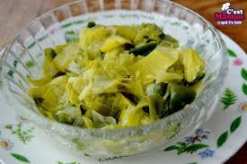 recettes de cuisine avec le vert du poireau c est maman qui l a fait poireaux vinaigrette et même avec le