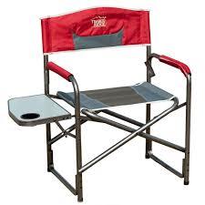 Timber Ridge Folding Lounge Chair timber ridge aluminum portable director u0027s folding chair with side