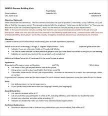 Internship Resumes Sample Resume Functional For An It Career Center