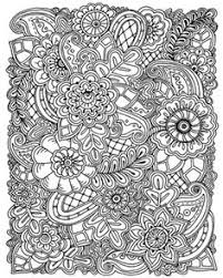 Make This Detailed Coloring Canvas Print Your Own By Decorating Missy Valentina Ramos Available At CanvasOnDemand