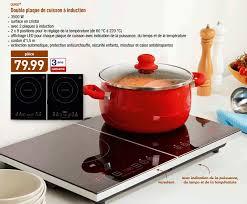 cuisiner avec l induction aldi promotion quigg plaque de cuisson à induction quigg