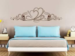 wandschablone für schlafzimmer