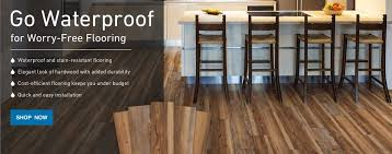 Go Waterproof For Worry Free Flooring Thats Stain Resistant Water And Easy To