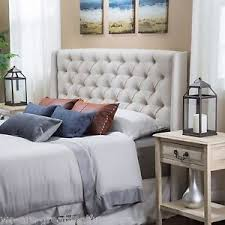 Target Roma Tufted Wingback Bed by Wingback Headboard Ebay