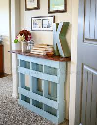 54e9ef6d6e695 Pallet Console Table 3 De Things To Make Out Of Pallets Home Design 16
