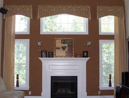 view fireplace with windows room design plan creative under