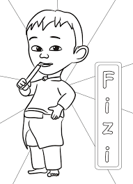 8 Best 6 Upin Ipin Coloring Pages Images On Pinterest
