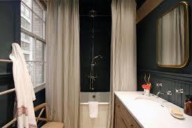 country bathroom with black beadboard country bathroom