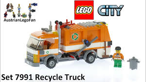 100 Lego Recycling Truck City 7991 Recycle Speed Build Review