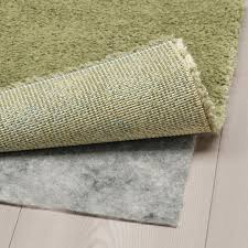 stoense teppich kurzflor hell olivgrün 80x150 cm