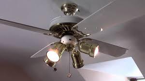 Ceiling Fan Wobble Kit by W U0026b Casablanca Delta Ii Ceiling Fan Youtube