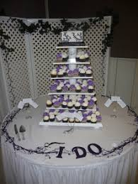 Wedding Cake Cupcake Tree
