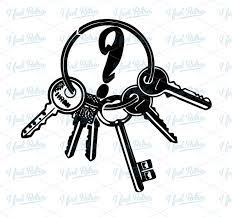 Key Ring Clip Art