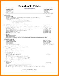 College Student Resume Samplesresume Examples Sample For Seeking Current