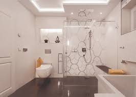 badezimmer in schwarz weiß schacht brederlow daaden