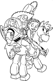 Coloriage Woody Toy Story 3 à Imprimer