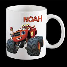 Personalised Blaze Coffee Mug, Blaze Monster Truck Kids Personalised P Racing Monster Truck Funny Videos Video For Kids Car Games Truck Toddler Bed Style Eflyg Beds Max Cliff Climber Monster Truck Kids Toy Mega Tow Challenge Kids 12 Appealing For Photo Inspiration Colors To Learn With Trucks Loading A Lot Of 3d Offroad Toy Rc Remote Control Blue Best Love Color Children S Cra 229 Unknown Children Drawing At Getdrawings Unique Of