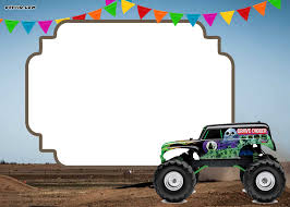 Monster Truck Free Printable Birthday Party Invitations ... Birthday Monster Truck Invitations Free Templates Grave Printable Party Fresh 9 Best Trucks Blaze And The Machines Trend Jam 3d Birthdayexpress Com 3 Year Old Cstruction With Printables Vip Guest Pass Printable Insert Instant Outstanding Images Inspirational E Three Awesome