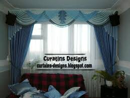 beauty modern blue curtain and draperies for living room curtain