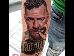 Floyd Mayweather Vs Conor McGregor In Vegas Tattoos