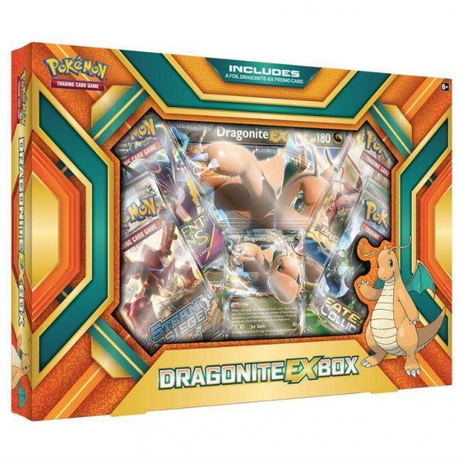 Pokemon TCG Dragonite EX Box