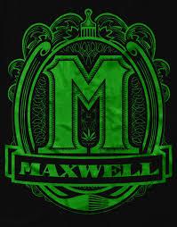 Maxwell Logo T Shirt Schwarz Grün – 187 Strassenbande Shop
