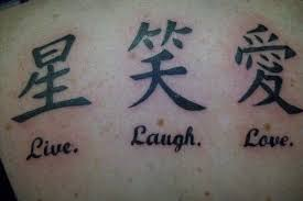 Over 60 Chinese Writing And Lettering Tattoo Ideas