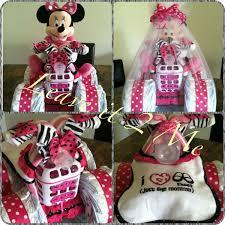 Minnie Mouse Diaper Bike Baby Shower Ideas Diaper Bike Baby
