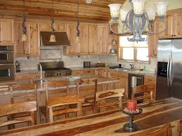 Log Cabin Kitchen Cabinet Ideas by Attractive Decorating Ideas Using Rectangular Brown Rugs And