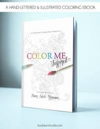 Color Me Inspired An Inspirational Adult Coloring EBook USD By ByDawnNicole