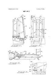 Patent US3811729 - Dump Trailer Having Automatic Tail Gate Lock ...