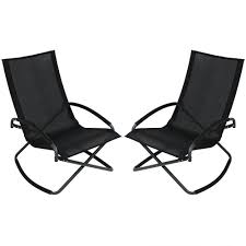 Sunnydaze Decor Black Steel Folding Rocking Outdoor Lawn And Patio Lounge  Chair (Set Of 2) Moreno Rocking Chair Teak Brown Rapson Mecedora Dedo Mexican Contemporary By Emiliano Molina For Cuchara Woodstock Rocker Modern Adirondack Swivel Counter Addsv621 Faux Leather Bross Classicon Euvira Rocking Chair Cord Seat Finsbury Buy Nye Koncept 332002ro1 Mid Century Avocado Green At Fniture Warehouse Harry Bertoia Style Asymmetrical Lounge