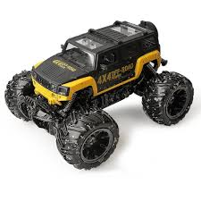 1/16 Off Road Monster Truck RC Toys 2.4G Remote Control Jeep Big ... Wl Toys A999 124 Scale Monster Onslaught Truck 24ghz Big Toys 110 Model 4ch Rc Tri Trucks Axel Ugly Vehiclebr Toysrus Rain Cant Put Brakes On Monster Truck Toy Drive New Jersey Herald The 8 Best Toy Cars For Kids To Buy In 2018 Ecx Ruckus 2wd Rtr Electric Blackorange Whosale Car With Remote Control Children Giveaway Movie And Party Ideas Charlene Hot Wheels Jam Batman Shop Monster Trucks Lego Technic 42005 3500 Hamleys Games