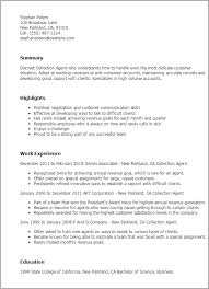 Collections Manager Resume Sample Business Resumes Formater Real Estate Agent Samples