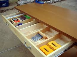 how to build workbench with drawers best house design