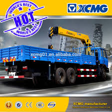 Xcmg 12ton Hydraulic Truck Mounted Crane With Telescopic Boom ...