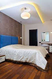 indirekte deckenbeleuchtung schlafzimmer effekte tapete