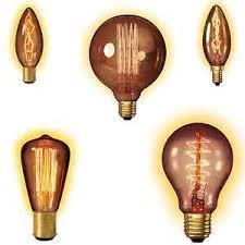 decorative incandescent filament ls clear gold bulb warm light
