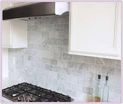 Marble Backsplash Tile Home Depot by Home Depot Marble Subway Tile Backsplash Tiles Home Design