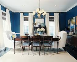 Navy And White Striped Curtains by Navy And White Dining Room Interior Design Navy Blue White