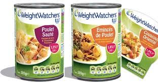 plat cuisiné weight watchers weight watchers se lance dans la conserve en
