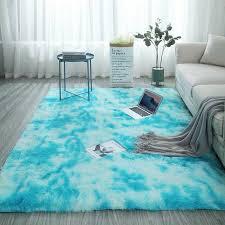 übergroße flauschige teppiche shaggy area rug esszimmer