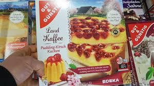 gut günstig edeka pudding kirsch kuchen kalorien