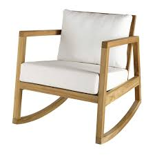 Teak And White Fabric Rocking Armchair Alpin | Maisons Du Monde Natural Wood Rocking Chairit130828n The Home Depot Choosing Chair Recliner For Nursery Editeestrela Design Fniture Double White Walmart Patio Eames Molded Plastic Armchair With Rocker Base Hivemoderncom Vitra Rar Armchairs Occasional Chairs Temple Webster Ikea Hack Strandmon Diy Wingback Teak And White Fabric Rocking Armchair Alpin Maisons Du Monde Stunning Living Room Photos Awesome Pong Rockingchair Birch Veneerfinnsta