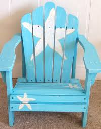 Custom Painted Margaritaville Adirondack Chairs by Best 25 Beach Style Adirondack Chairs Ideas On Pinterest Beach