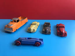 100 Tootsie Toy Fire Truck OLD VTG TOOTSIE Lot Of 5 NON Perfect Cars 2995