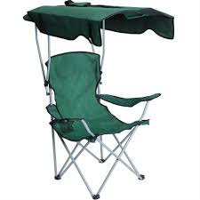 Portable Camping Chairs With Sun Shade Canopy Folding Chairs For Outdoor  Camping
