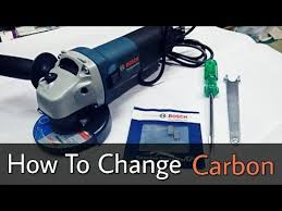 how to change angle grinder carbon brushes bosch gws600 india